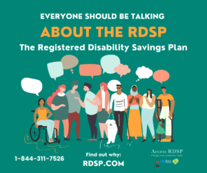 Everyone should be talking about the RDSP graphic